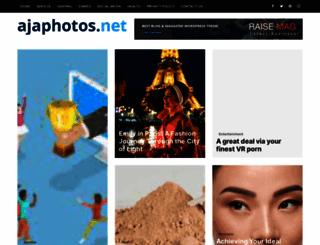 ajaphotos.net screenshot