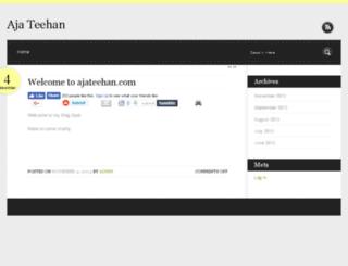 ajateehan.com screenshot