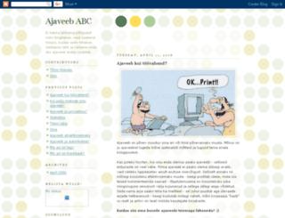 ajaveebseminar.blogspot.fr screenshot