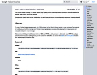 ajax.googleapis.com screenshot