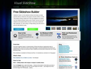 ajaxslideshow.com screenshot