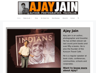 ajayjain.com screenshot