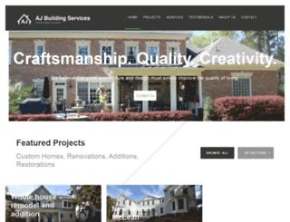 ajbuildingservices.com screenshot