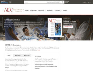 ajcc.aacnjournals.org screenshot