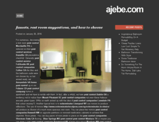 ajebe.com screenshot