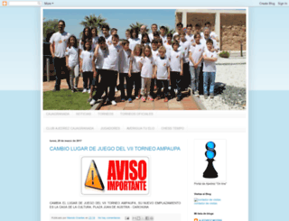 ajedrecistasgranada.blogspot.com screenshot