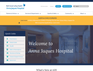 ajh.org screenshot