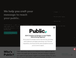 ajhcreate.com screenshot