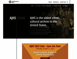 ajhs.org screenshot