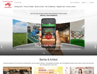 ajinomoto.co.id screenshot