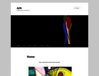 ajith.com screenshot