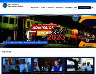 ajku.edu.pk screenshot