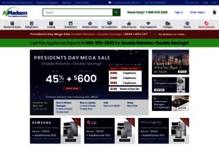 ajmadison.com screenshot