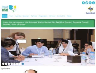 ajman-csr.com screenshot