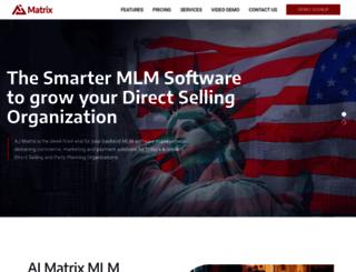 ajmatrix.com screenshot