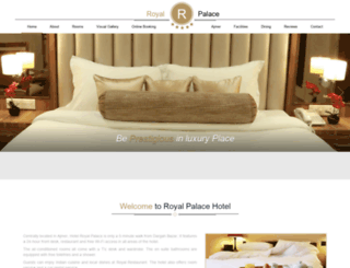 ajmerhotelroyalpalace.com screenshot