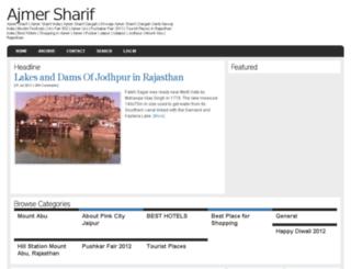 ajmersharifindia.com screenshot