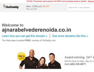 ajnarabelvederenoida.co.in screenshot