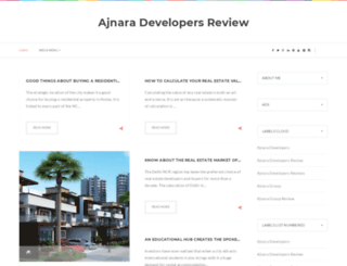 ajnaradevelopersreviews.blogspot.in screenshot
