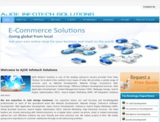 ajoeinfotechsolutionsindia.com screenshot