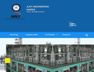 ajoyengineeringworks.com screenshot