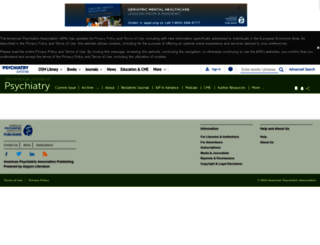 ajp.psychiatryonline.org screenshot