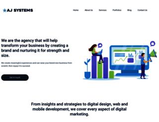 ajsystems.com screenshot