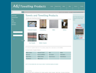 ajtowelling.com screenshot