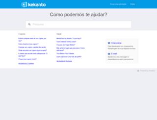 ajuda.kekanto.com screenshot