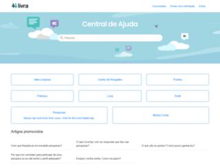 ajuda.livra.com screenshot