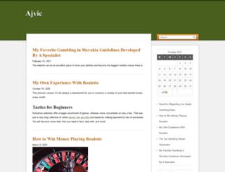 ajvic.net screenshot