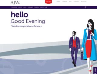 ajw-aviation.com screenshot