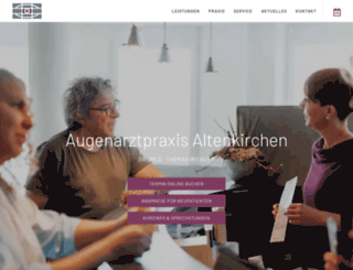 ak-augenarzt.de screenshot