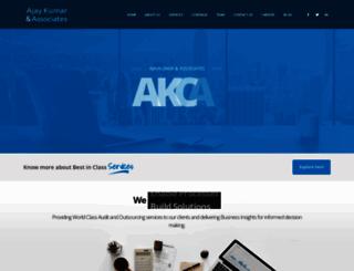 ak-ca.com screenshot