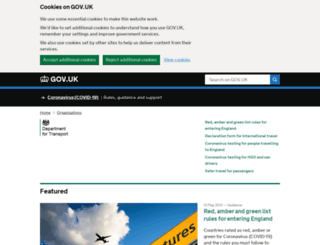 aka.dft.gov.uk screenshot