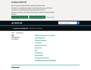 aka.hmrc.gov.uk screenshot