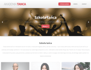akademia-tanca.com.pl screenshot