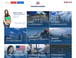 akademia-zdrowia.pl screenshot
