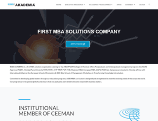 akademia.co.in screenshot