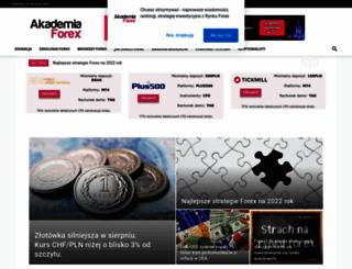 akademiaforex.com screenshot