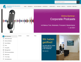 akademie-fuer-publizistik.de screenshot