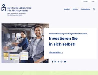 akademie-management.de screenshot