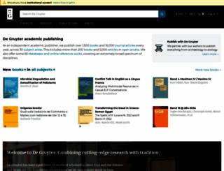 akademie-verlag.de screenshot