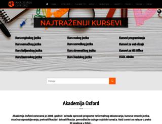 akademijaoxford.com screenshot