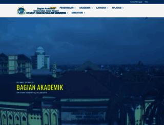akademik.uinjkt.ac.id screenshot