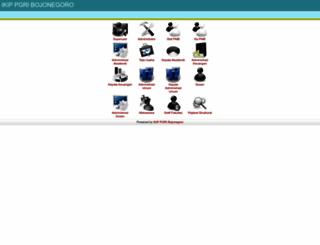 akademis.ikippgribojonegoro.ac.id screenshot