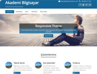 akademitekno.com screenshot