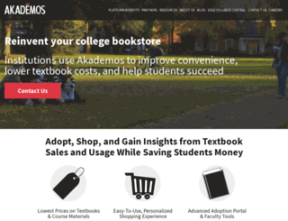 akademos.com screenshot