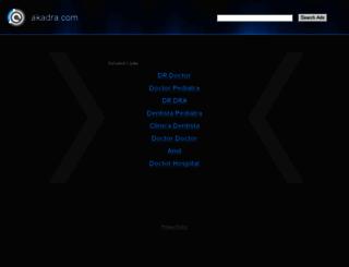 akadra.com screenshot