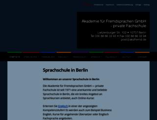 akafremd.de screenshot